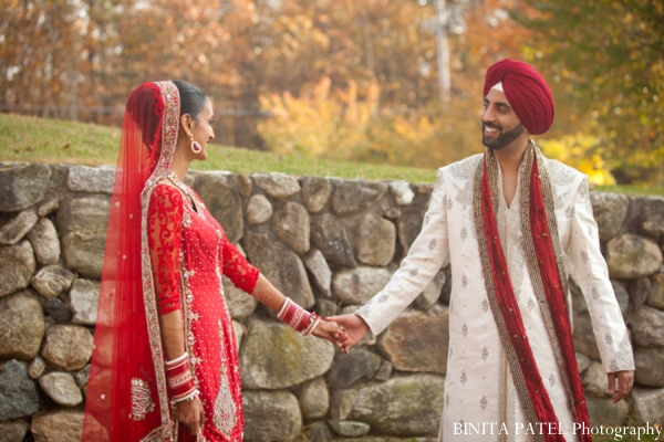 Indian wedding portraits in Woburn, MA Indian Fusion Wedding by Binita Patel Photography