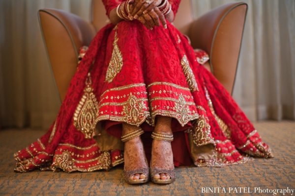 Indian wedding shoes in Woburn, MA Indian Fusion Wedding by Binita Patel Photography