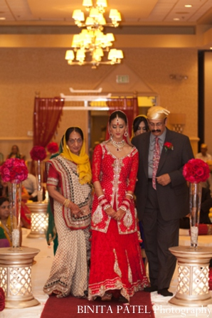 Indian wedding sikh in Woburn, MA Indian Fusion Wedding by Binita Patel Photography