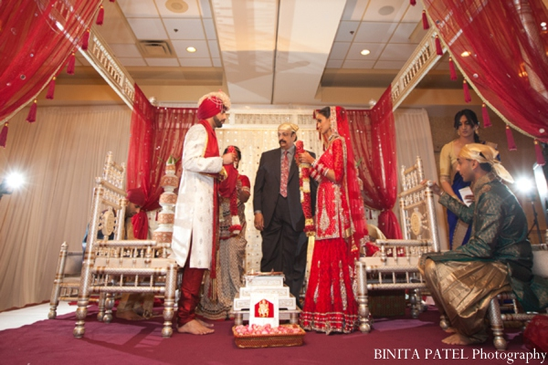 Indian wedding tradition in Woburn, MA Indian Fusion Wedding by Binita Patel Photography