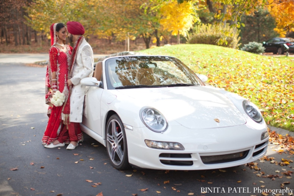 Indian wedding transportation in Woburn, MA Indian Fusion Wedding by Binita Patel Photography