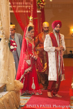 Sikh indian wedding in Woburn, MA Indian Fusion Wedding by Binita Patel Photography