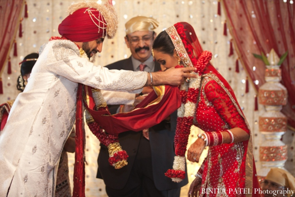 Sikh wedding ceremony in Woburn, MA Indian Fusion Wedding by Binita Patel Photography
