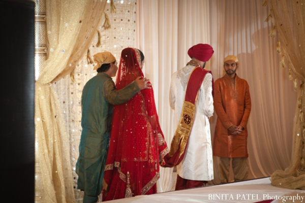 Sikh wedding customs in Woburn, MA Indian Fusion Wedding by Binita Patel Photography