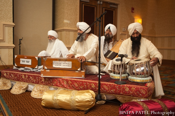Sikh wedding music in Woburn, MA Indian Fusion Wedding by Binita Patel Photography