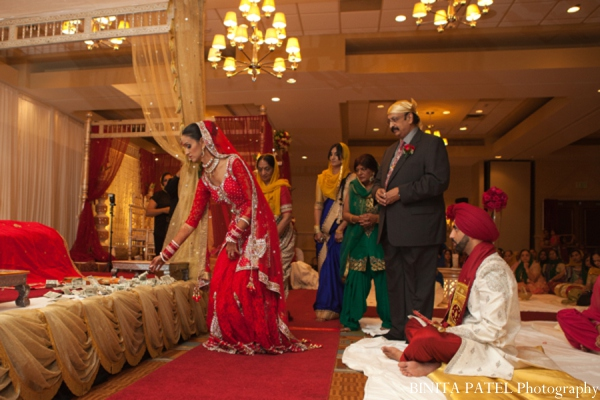 Sikh wedding rituals customs in Woburn, MA Indian Fusion Wedding by Binita Patel Photography