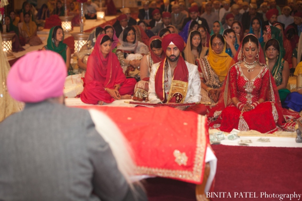 Sikh wedding rituals in Woburn, MA Indian Fusion Wedding by Binita Patel Photography
