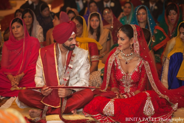 Sikh wedding traditional in Woburn, MA Indian Fusion Wedding by Binita Patel Photography