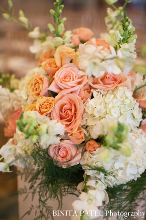 Indian wedding flower inspiration in Boston, Massachusetts Indian Wedding by Binita Patel Photography