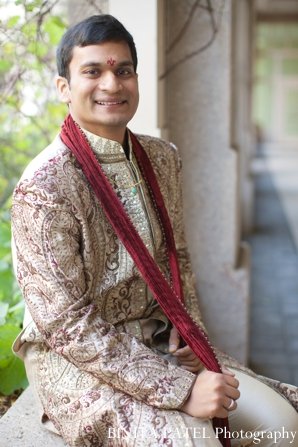 Indian wedding groom sherwani traditional in Boston, Massachusetts Indian Wedding by Binita Patel Photography