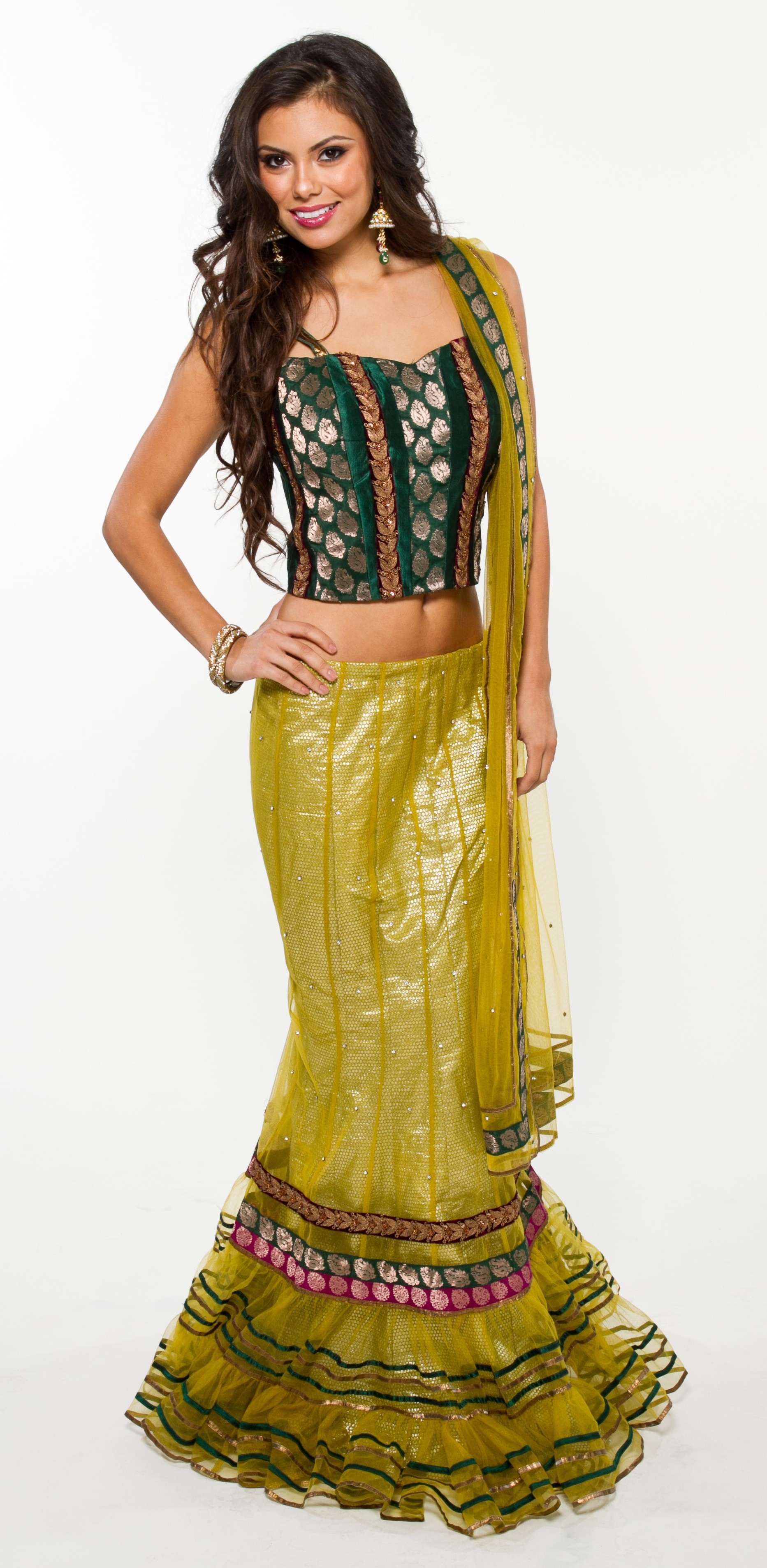 Mermaid-princess-lehenga