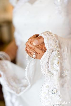 Indian wedding traditional bridal dress muslim ceremony in San Diego, California Indian Wedding by Braja Mandala Wedding Photography