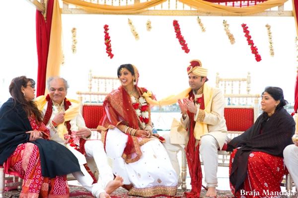 Indian wedding traditional hindu outdoor ceremony in San Diego, California Indian Wedding by Braja Mandala Wedding Photography