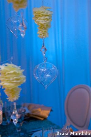 Indian wedding bridal inspiration table decor in Wedding Decor Inspiration Shoot by Braja Mandala Wedding Photography
