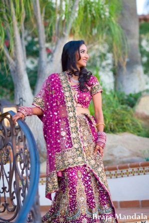 Indian-wedding-bridal-reception-portrait