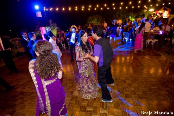 Indian-wedding-bride-groom-lighting-dance-floor