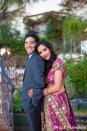 Indian-wedding-couple-portrait-groom-bride