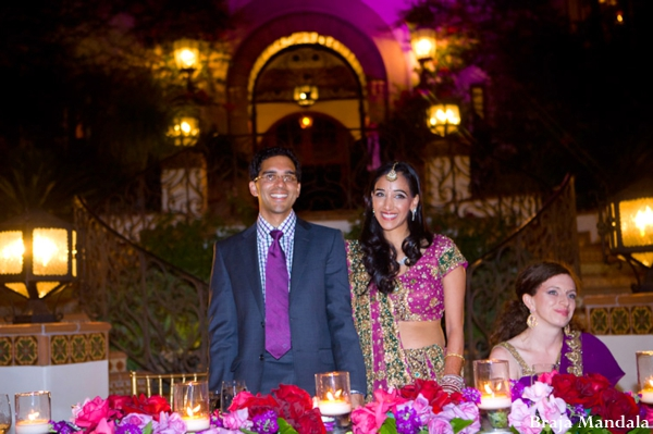 Indian-wedding-couple-reception-bride-groom-lighting