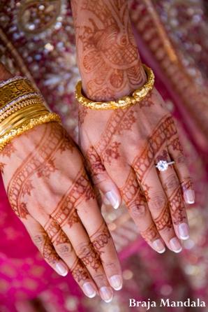 Indian-wedding-henna-hands-diamond-ring