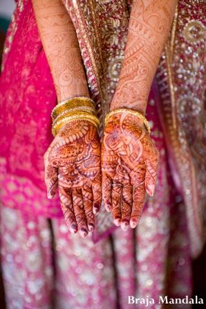 Indian-wedding-lengha-henna-hands