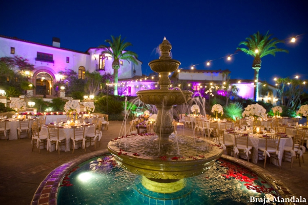 Indian-wedding-lighting-fountain-reception-outdoors