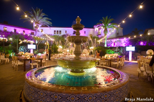 Indian-wedding-lighting-reception-setting-outdoors