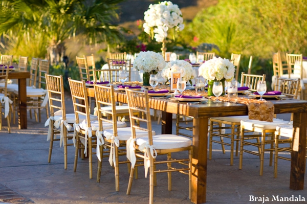 Indian-wedding-outdoors-reception-table-setting