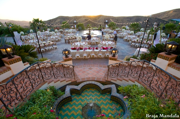 Indian-wedding-reception-table-outdoors