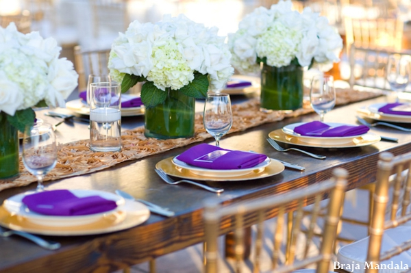 Indian-wedding-reception-table-setting-floral-setting