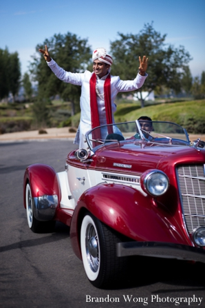 Indian-wedding-baraat-groom-car
