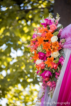 Indian-wedding-ceremony-floral-mandap