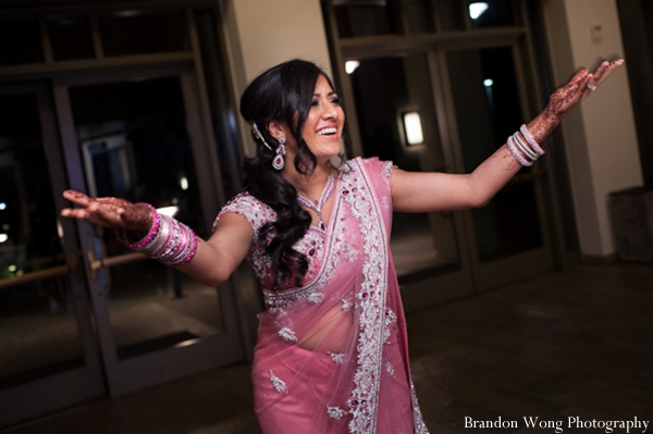 Indian-wedding-reception-bride-dance