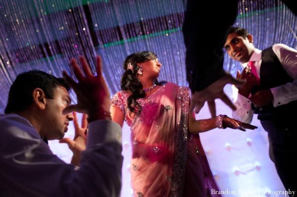 Indian-wedding-reception-bride-dancing