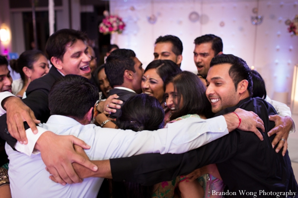 Indian-wedding-reception-bride-groom-dancing-celebration