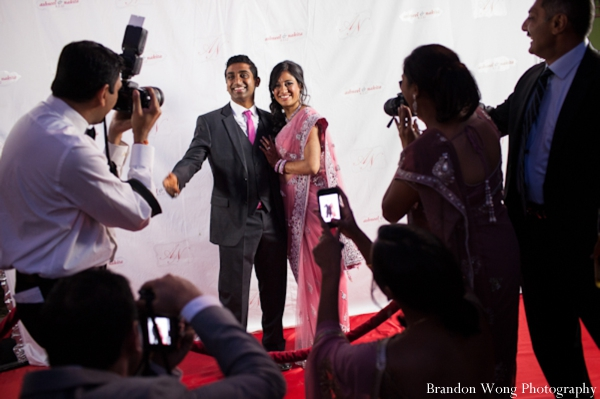 Indian-wedding-reception-bride-groom