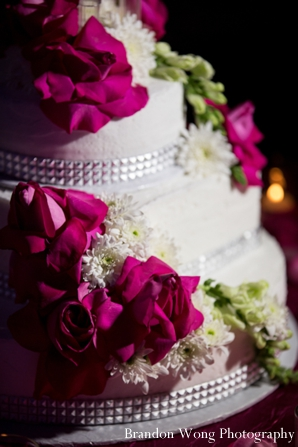 Indian-wedding-reception-cake-detail