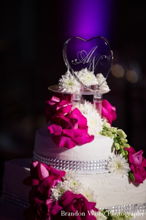 Indian-wedding-reception-decor-cake