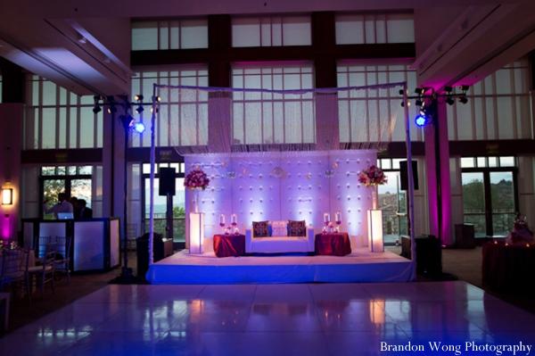Indian-wedding-reception-decor-lighting