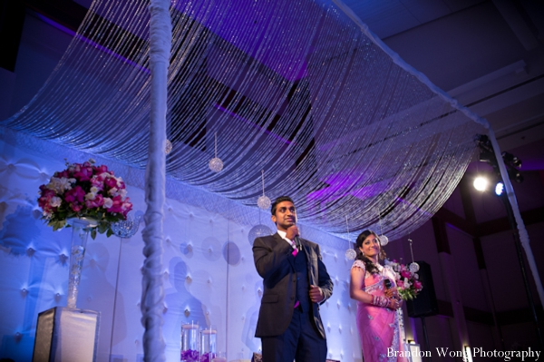 Indian-wedding-reception-speech-decor