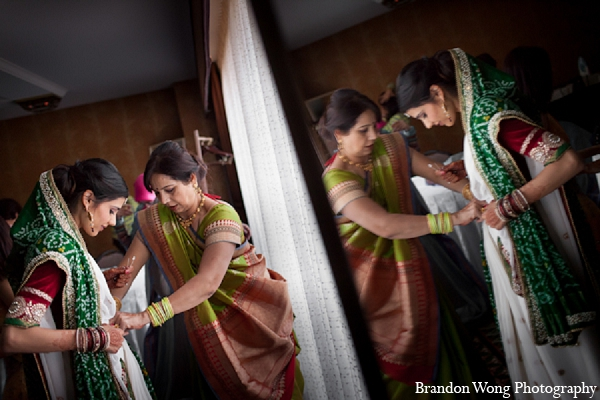 Indian wedding bridal fashion photography in Newport Beach, California Indian Wedding by Brandon Wong Photography
