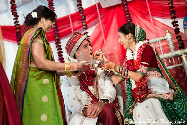 Indian wedding bride groom ceremony in Newport Beach, California Indian Wedding by Brandon Wong Photography