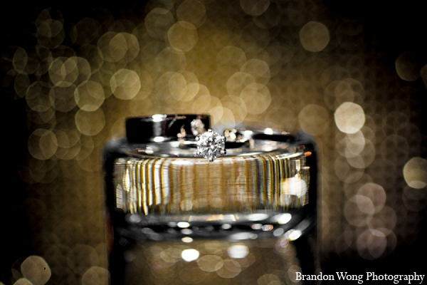 Indian wedding rings photography in Newport Beach, California Indian Wedding by Brandon Wong Photography