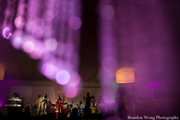 Indian-wedding-purple-lighting-reception-music-entertainment