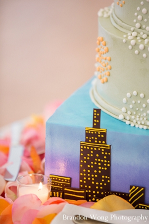 Indian-wedding-reception-cake-inspiration-colorful
