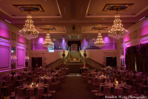 Indian-wedding-reception-venue-lighting
