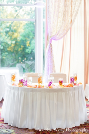 Indian-wedding-sweetheart-table-white-colorful