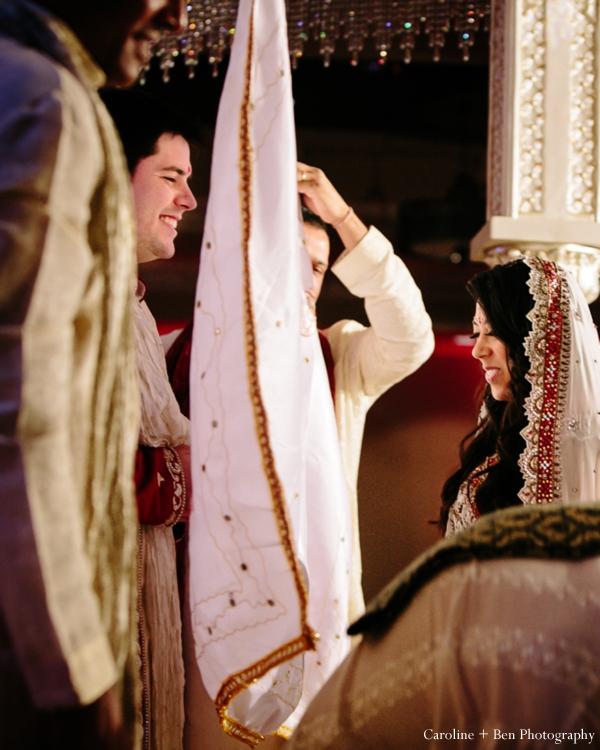 Indian wedding ceremony bride groom custom