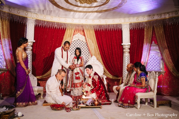Indian wedding ceremony bride groom traditional customs