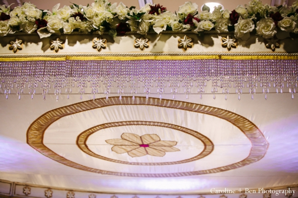 Indian wedding ceremony decor detail