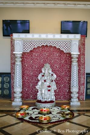 Indian wedding ceremony decor inspiration